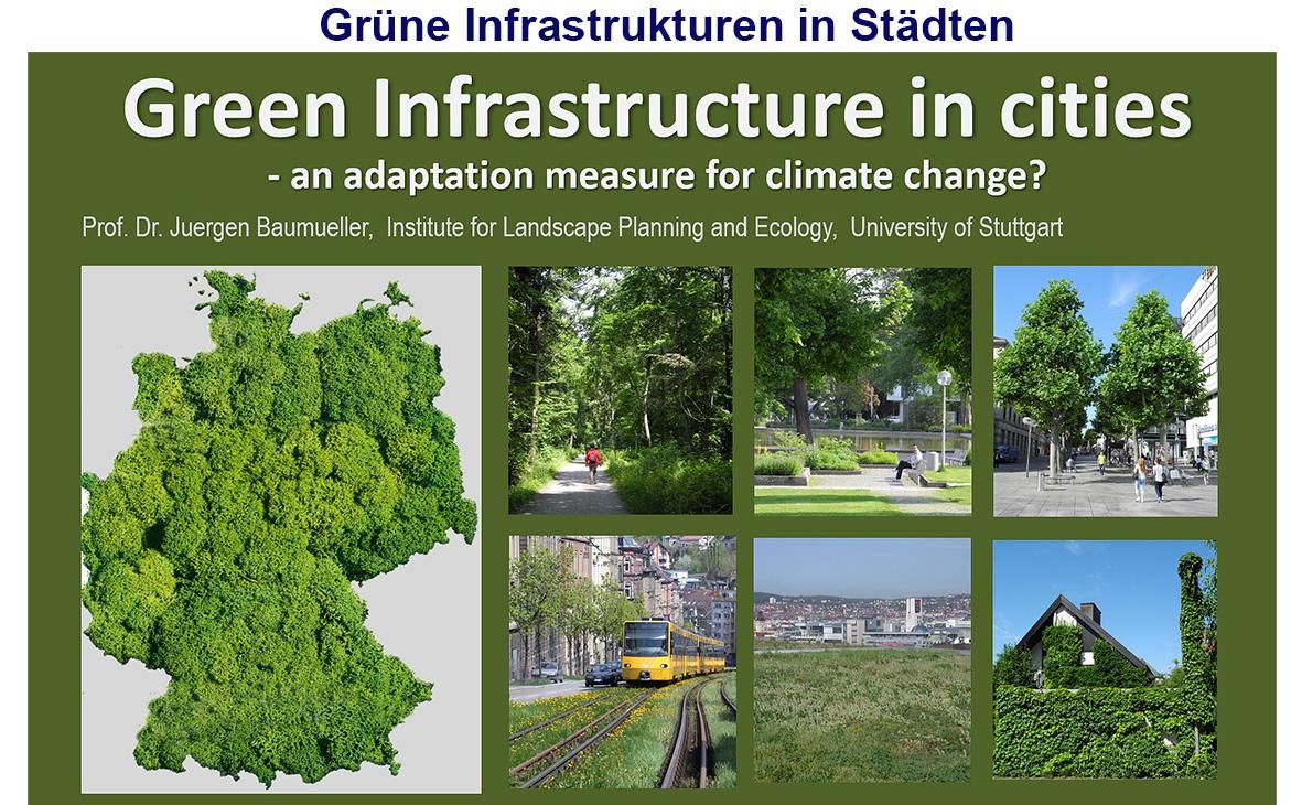 Grüne Infrastrukturen in Städten